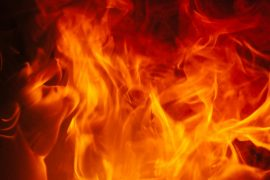 FIRE CAUSES DAMAGE AT AREA DUPLEX