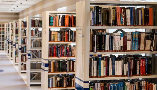 BOOKS CAN SOON STRETCH THEIR SPINES