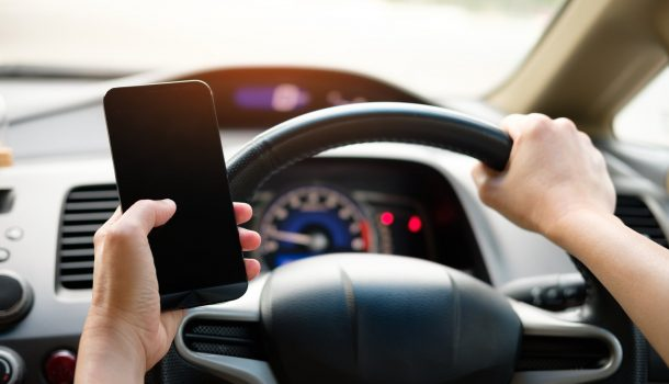 DISTRACTED DRIVING: NOTHING TO LOL AT