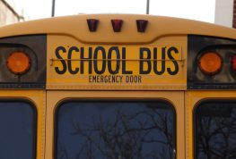 WEATHER A FACTOR IN SCHOOL BUS ACCIDENT