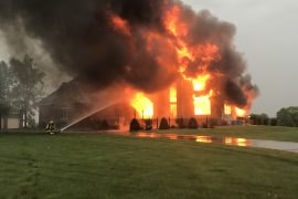 RICE LAKE FIRE, $1 MILLION IN DAMAGES