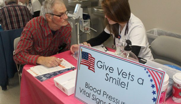 VETS HAVE MORE TO SMILE ABOUT
