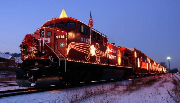 CHOO CHOO…HO HO HO HOLIDAY TRAIN!