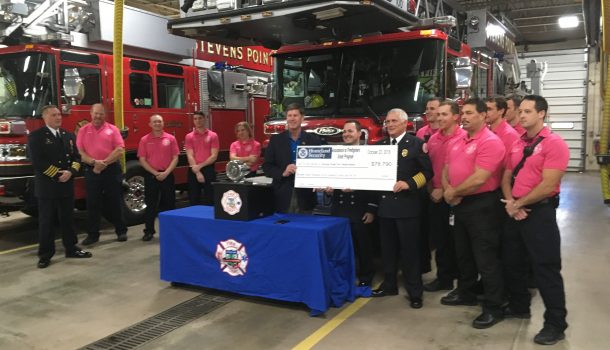 FIRE DEPARTMENT GETS GRANT