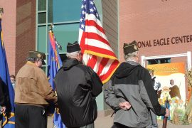 EAGLE CENTER HONORS VETS