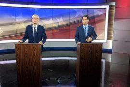 WI GUBERNATORIAL CANDIDATES HIT THE PODIUMS