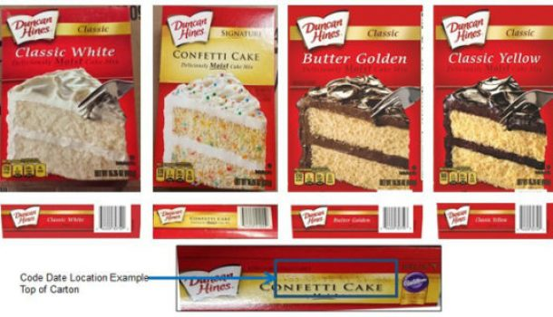 NOTHING TO CELEBRATE-CAKE MIX RECALL