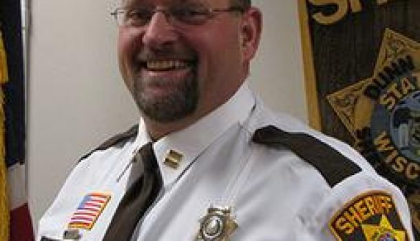 DUNN CO. HAS NEW SHERIFF IN TOWN