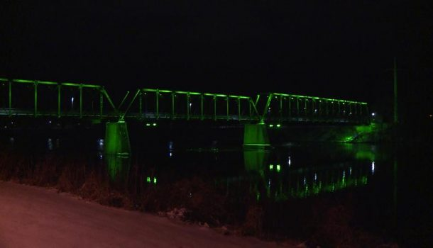 LIGHTS SHINE FOR GIRL SCOUTS