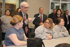 EVERS MAKING BUDGET ROUNDS