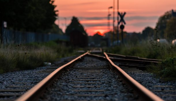 WOMAN SAFE AFTER TRAIN ACCIDENT