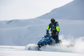 SNOWMOBILE SAFETY REVS UP
