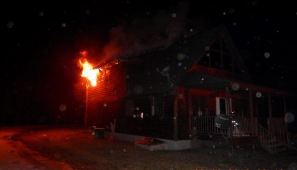 FIRE IN BLACK RIVER FALLS CAUSES HEAVY DAMAGE