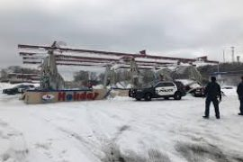 GAS…P! SNOW TO BLAME FOR GAS STATION CANOPY COLLAPSE