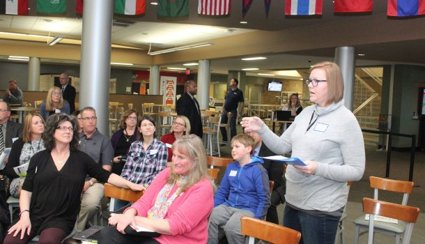 EVERS LISTENING SESSION SAW VARIETY OF COMMUNITY MEMBERS