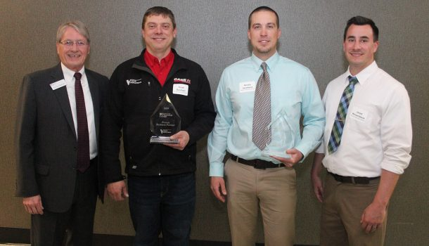LOCAL BUSINESS LEADERS HONORED