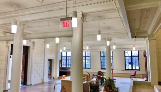 CITY HALL WOWS WITH NEW LOOK