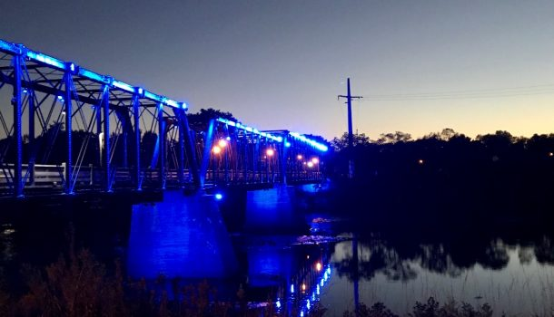 THE BRIDGE GETS THE BLUES