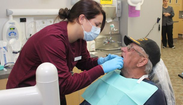GIVE VETS A SMILE RETURNS
