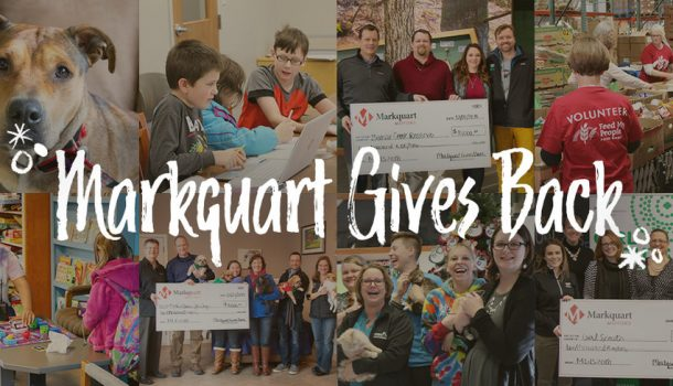 MARKQUART GIVES BACK IS BACK!