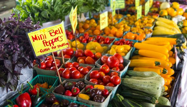 WHAT TO EXPECT AT THE FARMERS MARKET