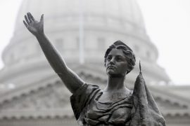 WI Prosecutors Move Ahead With Charges in Statue Damage