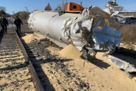 Train Vs. Semi Crash in Barron Co.