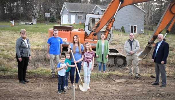 Project Begins for Mondovi Family