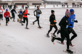 Snow-Go for Snowshoe Champs