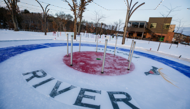 New Ice Rink Heats Up Cinder City