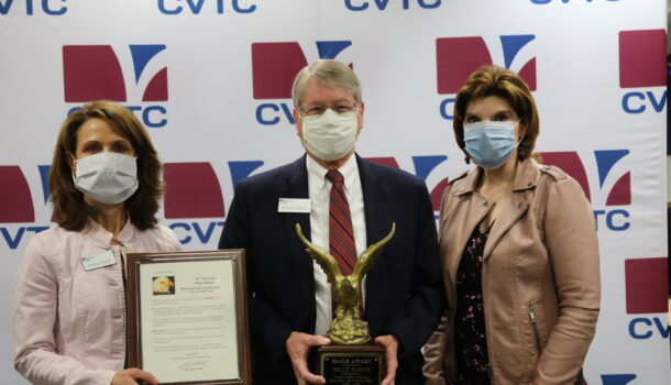 Local President Soars with Eagle Award