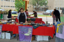 Empty Bowls Fill Space at Farmers Market